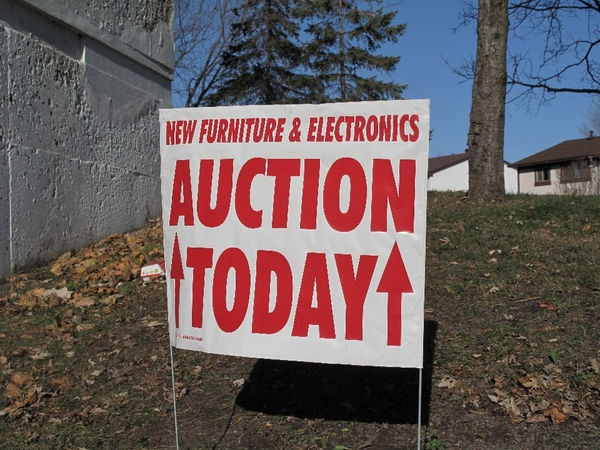 Auction today