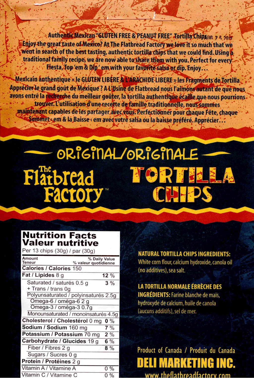 Tortilla - The Flatbread Company