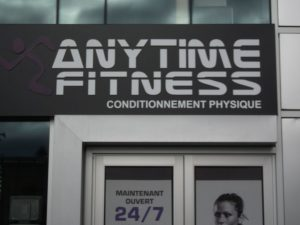 Anytime Fitness - rue Eddy