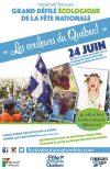 Unique ! Le grand défilé « écologique » de la fête nationale du Québec