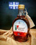 photo bouteille sirop d'érable Impératif français