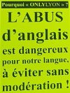 Le 20 mars Lyon sera la capitale de la Résistance au tout-anglais