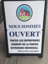 Ottawa massacre le français - Enseigne